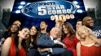 Cowboys First NFL Team Worth $2B
