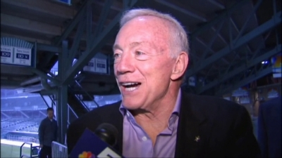 Jerry Jones: Cowboys Aren't Rebuilding