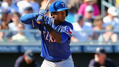 Profar Begins Taking Grounders
