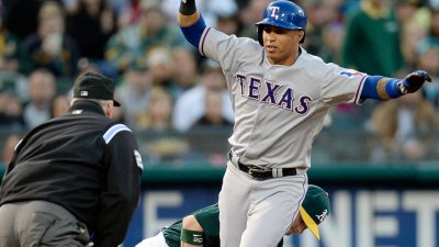 Rangers Will Try Martin in Leadoff Spot