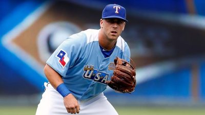 Mike Olt Running On Injured Foot