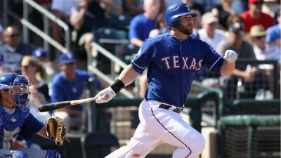 Moreland Won't Play Left in Arlington