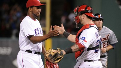 Rangers Take Game 1 in ALCS