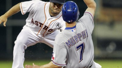 Rangers Trounced in Opener Vs. Astros