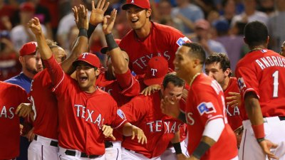 Rangers Get Big Lift With Walk-Off Heroics