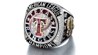 Rangers Unveil 2011 AL Championship Rings