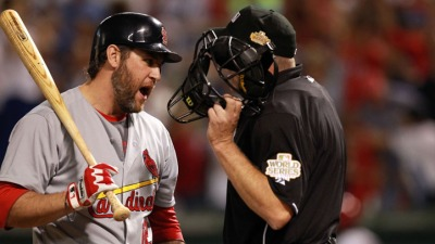 Berkman Dealing With Minor Injury