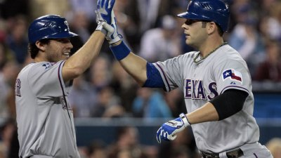 Rangers Dominate The Twins At Home
