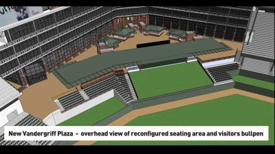 New Upgrades for Rangers Ballpark