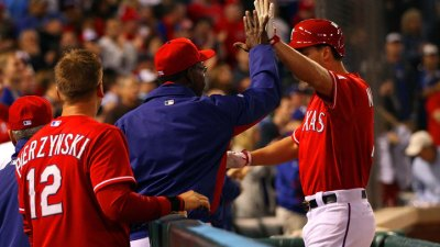 Lowe, Rangers Shut Out Mariners