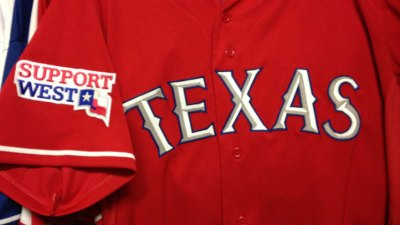 Rangers Dedicate Day, Astros Game To West Victims