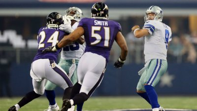 Cowboys Fall Short Against Ravens, 37-30