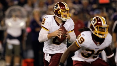 Grossman Named Redskins Starter