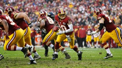 "Poppinga On RG3: ""You Have To Hit Him"""