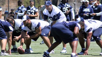 Tony Romo Returns to Practice