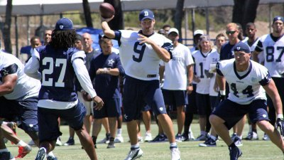 Romo Easing Into Camp After Back Surgery