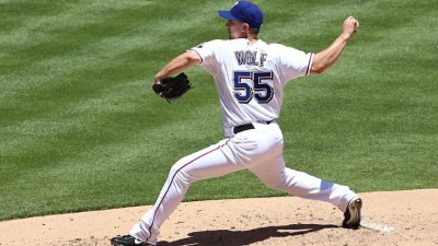 Wolf Wins In Rangers Loss
