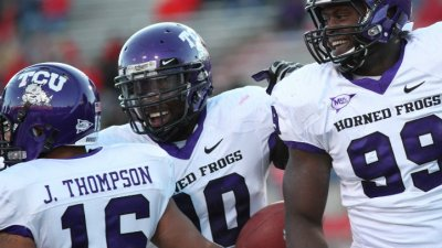 "TCU DE Stansly Maponga: Being a Cowboy ""Would Be a Dream Come True"""