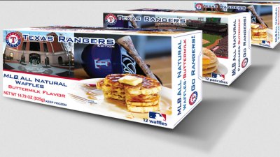 Rangers Featured on Breakfast Foods