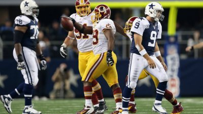 Redskins Hold Off Cowboys, 38-31