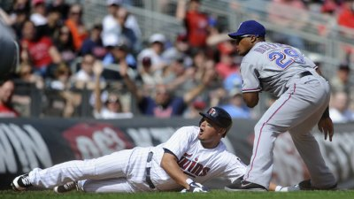 Correia Shuts Down Rangers in Twins' Win