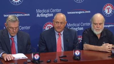 Davis Approved as Controlling Owner of the Rangers