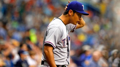 Darvish Returns as Rangers Beat Rays 3-0