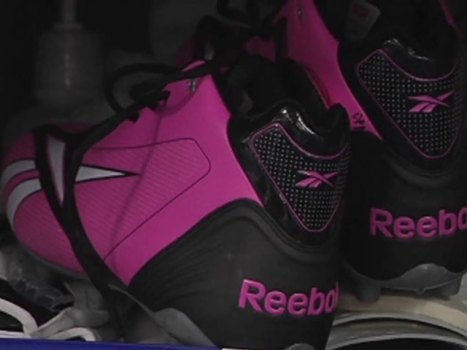 What's Up With the Pink Reeboks?