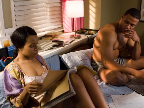 Kerry Washington: Movie Sex Scenes Are Like College Living