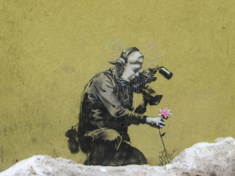 Banksy Leaving His Mark on Sundance
