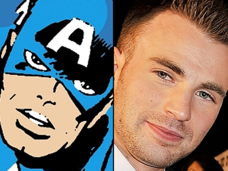 "At Long Last, Chris Evans Is ""Captain America"""