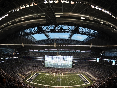 Cowboys Stadium Now a Bowling Alley