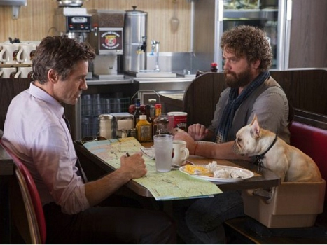 """Due Date"" Trailer, Starring Downey & Galifianakis, Drops With a Quiet Thud"