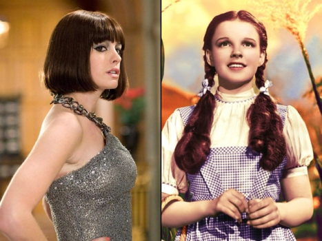Anne Hathaway Hasn't Given Up on Judy Garland Biopic