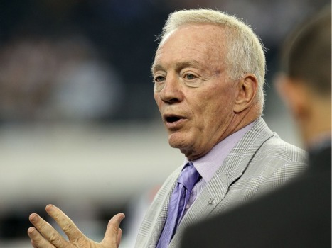 Jerry Jones Returns to Labor Talks
