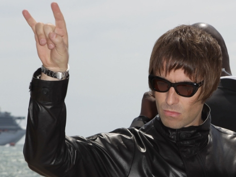 Liam Gallagher Recording for His Non-Beatles Beatles Movie