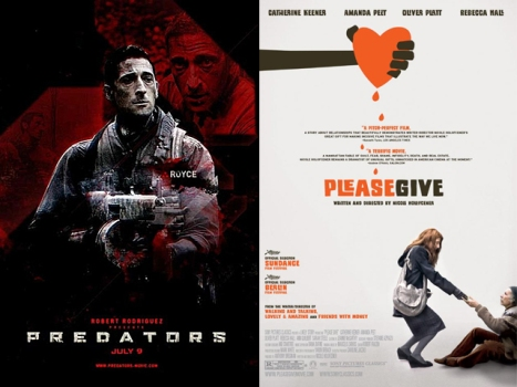 "New On Home Video: ""Predators"" on the Hunt, Please Give ""Please Give"" a Second Chance"