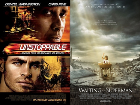 "New on Home Video: ""Unstoppable,"" ""Waiting for Superman"""