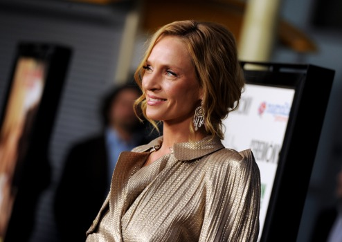 """Ceremony"" Star Uma Thurman Plays a Very Different Kind of Bride"