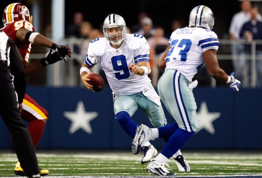 Romo's Back Sore, But Not Serious