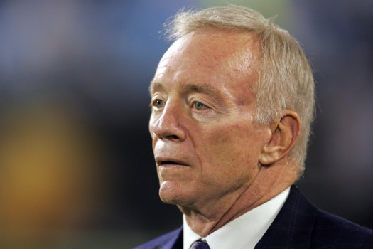 "Jerry Jones ""Disappointed"" But ""Proud"""