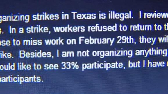 Dallas Teacher Calls for Sick Out