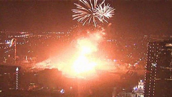 Fort Worth Fireworks Display Explodes