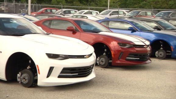 Chevy Dealership Dallas Tx >> Tire Thieves Leave Tx Chevy Dealer Flat