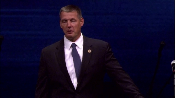 Sgt  Michael Smith Funeral: Pastor Todd Wagner