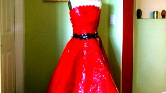 Duct Tape Prom Dress Nbc 5 Dallas Fort Worth