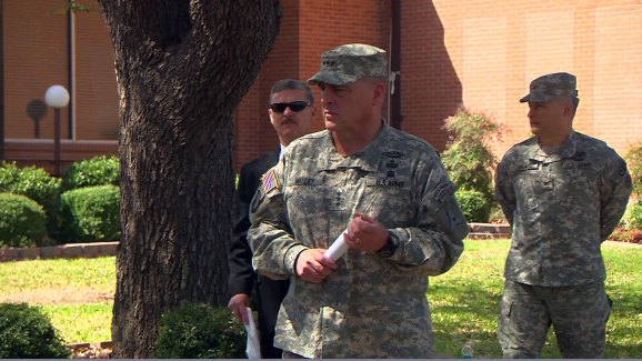 Lt  Gen  Mark Milley Confirms Names of Shooting Victims