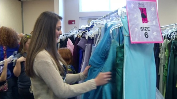 The Prom Closet Helps Teens Get Dream Dress - NBC 5 Dallas-Fort Worth