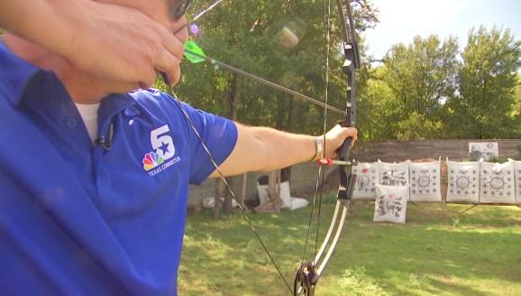 e1f6ab9a24ab Rugged and Refined: Archery at Cinnamon Creek Ranch - NBC 5 Dallas ...