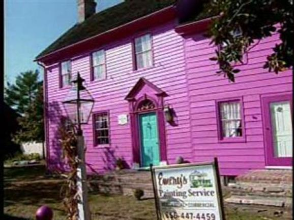 Hot Pink House